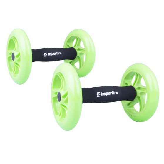 Roata exercitii inSPORTline Ab Roller Double